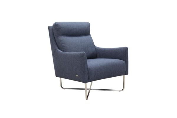 Крісло з хромованими ніжками купити в Києві | Для сучасних інтер'єрів