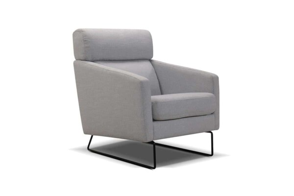 М'яке крісло на металевих ніжках купити Київ. Модель 1090-fk. Супермаркет диванів Relax Studio
