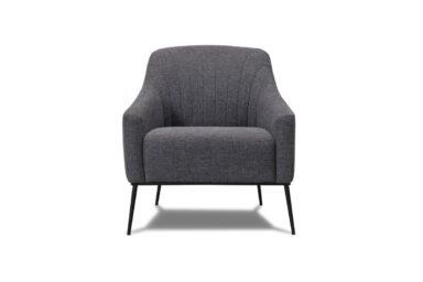 М'яке крісло на високих металевих ніжках. Модель 116-fk-1p | Супермаркет диванів Relax-Studio. Київ