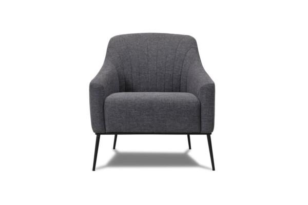 Мягкое кресло высоких металлических ножках. Модель 116-fk-1p | Супермаркет диванов Relax-Studio. Киев
