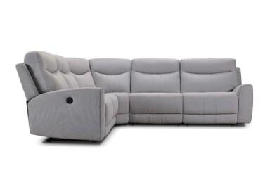 Кутовий диван з високою спинкою. Великий вибір м'яких меблів у супермаркеті диванів Relax Studio