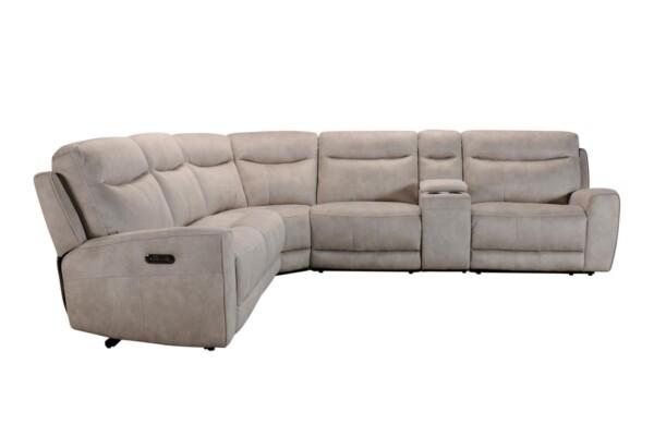 Большой угловой диван с электрическими реклайнерами. Киев. Супермаркет диванов Relax Studio