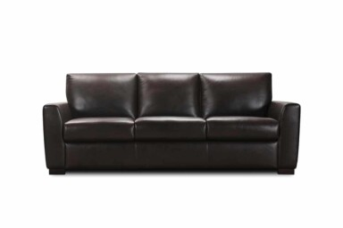 Шкіряний диван з розкладкою для сну типу міленіум купити в Києві. Модель 32200sbm. Супермаркет диванів Релакс Студіо