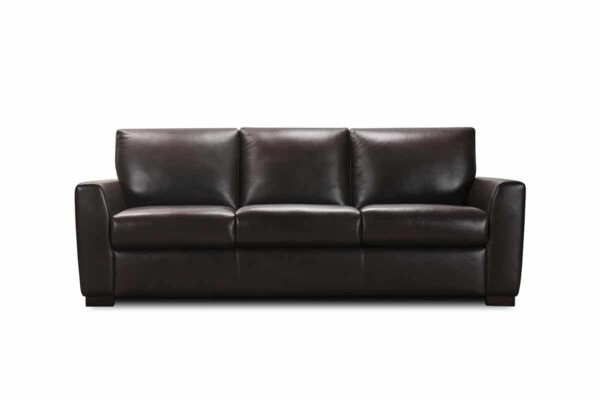 Кожаный диван с раскладкой для сна типа миллениум купить в Киеве. Модель 32200sbm. Супермаркет диванов Релакс Студио