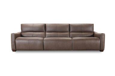 Шкіряний диван Київ купити. Модель 32244em. Супермаркет диванів Relax Studio