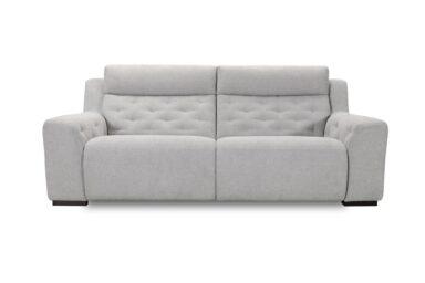 М'який диван для вітальні з електричним реклайнером. Київ. Супермаркет диванів Релакс Студіо