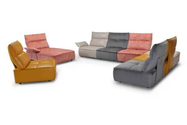 Дизайнерські модульні дивани в яскравих кольорах купити в Україні. Супермаркет диванів Relax Studio