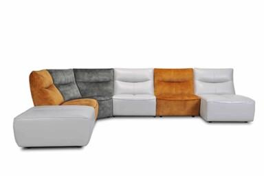 Большой модульный диван в гостиную. Киев Супермаркет диванов Relax Studio. модель 32338EC