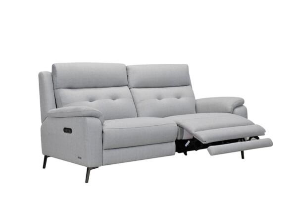 Прямой диван с электрическими реклайнером купить в Украине недорого. Супермаркет диванов Релакс Студио