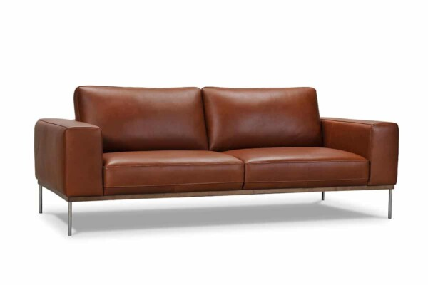 Модний шкіряний диван. Високі ніжки. Київ Супермаркет диванів Relax Studio