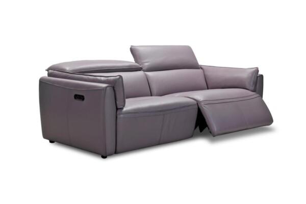 Стильный кожаный диван 32824EM Киев. Супермаркет диванов Релакс Студио