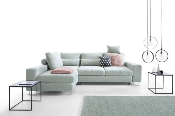 Диван кутовий Asti | Для мінімалістичних інтер'єрів у стилі модерн або лофт | Супермаркет диванів Relax Studio