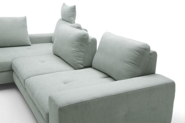 Диван кутовий Asti з додатковими підголівниками для покращеного комфорту | Супермаркет диванів Relax Studio