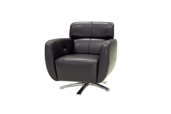 Поворотне крісло купити Київ. Модель B0038 SCH. Супермаркет диванів Relax Studio