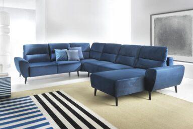 Диван угловой BOSCO U-FORM | Для интерьеров в скандинавском стиле | Супермаркет диванов Relax Studio