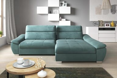 Диван угловой CALIA | С раскладным спальным местом | Супермаркет диванов Relax Studio