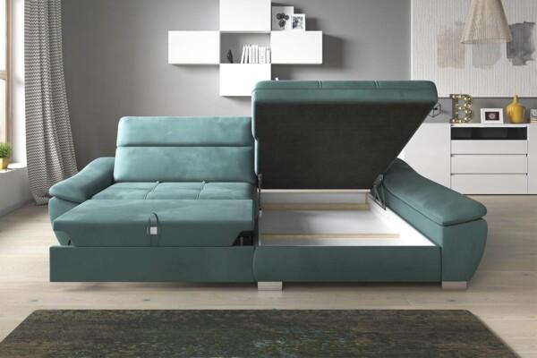 Диван кутовий CALIA | Розкладка для сну та ніша для білизни | Супермаркет диванів Relax Studio