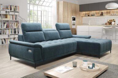 Угловой диван Calvaro mini | Механизм для постоянного сна с электрическим приводом | Супермаркет диванов Relax Studio в Киеве