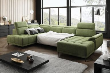 Диван угловой Calvaro Xl | Для больших и средних помещений | Супермаркет диванов Relax Studio