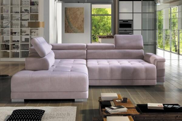 Кутовий диван Campo l | Для вітальні з механізмом трансформації | Супермаркет диванів Relax Studio
