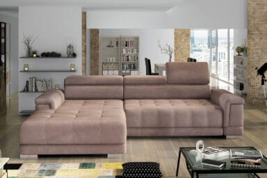 Кутовий диван Campo mini | З розкладкою для сну | Супермаркет диванів Relax Studio Київ