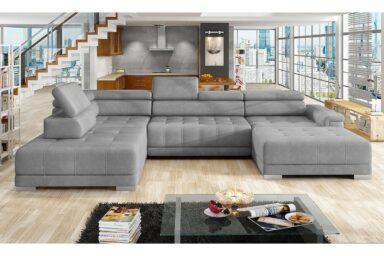 Кутовий диван Campo XL | Для великої вітальні | Супермаркет диванів Релакс Студіо. Київ. ТЦ Аракс.