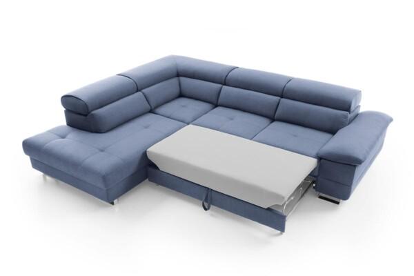 Кутовий диван Costa | З розкладкою для щоденного сну | Супермаркет диванів Relax Studio