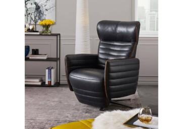 Поворотное кресло с электрическим реклайнером DM-11542. Супермаркет диванов Relax-Studio
