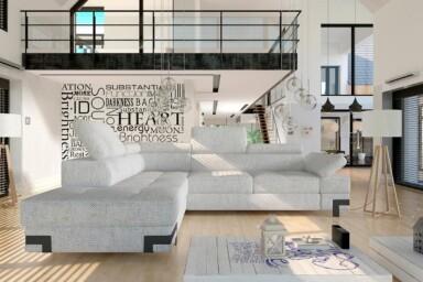 Невеликий кутовий диван Emporio L купити Київ. Супермаркет диванів Relax Studio