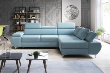Угловой диван Flame-Mini купить в Украине. Супермаркет диванов Релакс Студио