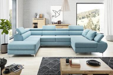 П-образный диван Flame-XL купить в Украине. Супермаркет диванов Релакс Студио
