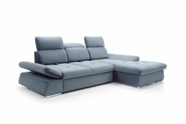 Угловой диван со спальным местом и нишей для белья - Focus. Супермаркет диванов Relax-Studio