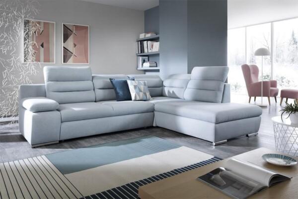Угловой диван Greco - небольшой угловой диван с высокой спинкой | Мягкие уголки Киев. Супермаркет диванов Relax-Studio