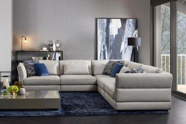 Кутовий диван в американському стилі купити в Києві. Супермаркет диванів Relax Studio
