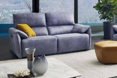 Компактный прямой диван HTL-11895 купить в Киеве. Супермаркет диванов Релакс Студио