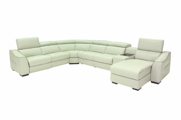 Модульний кутовий диван з реклайнером HTL-9202-US Супермаркет диванів Релакс Студіо