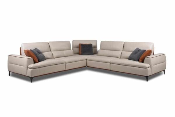 Кутовий диван купити в Києві. Модель HTL-B5086. Супермаркет диванів Релакс Студіо