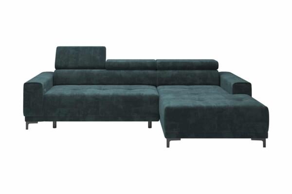 Кутовий диван Hugo mini - для невеликих приміщень | Польські дивани Київ