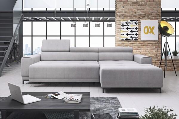 Кутовий диван Hugo mini - для сучасних інтер'єрів | М'які куточки недорого в салоні Relax Studio Київ