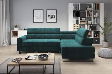 Компактный угловой диван Livio-W купить в Украине. Супермаркет диванов Релакс Студио