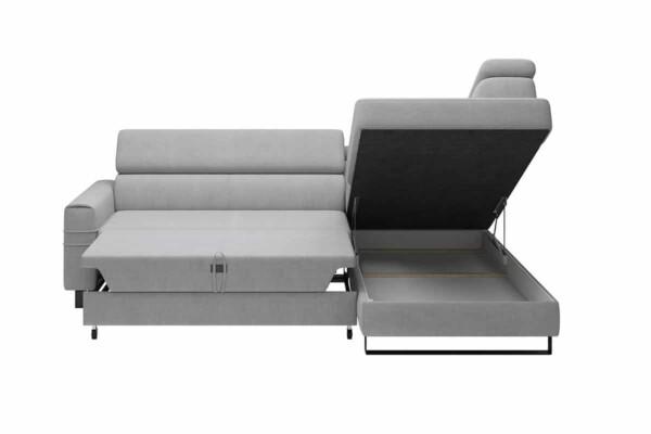 Угловой диван для небольшой комнаты с раскладным спальным местом. Супермаркет диванов Релакс Студио