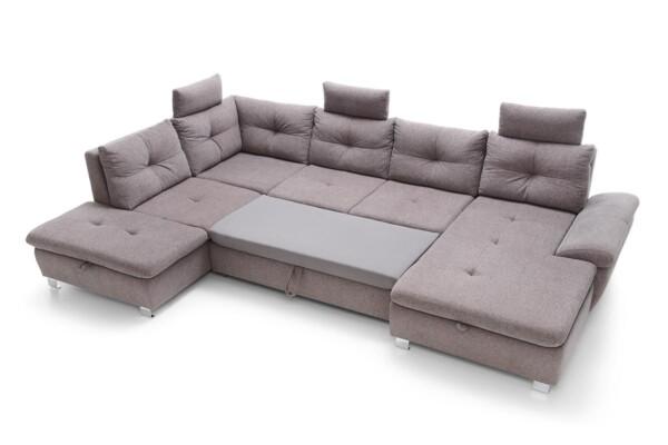 Кутовий диван з місцем для постійного сну. М'який куточок Madeira set.3 Польща. Салон меблів Релакс Студіо