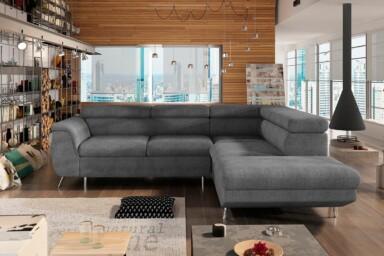 Угловой диван Morgan-L купить в Украине. Супермаркет диванов Релакс Студио
