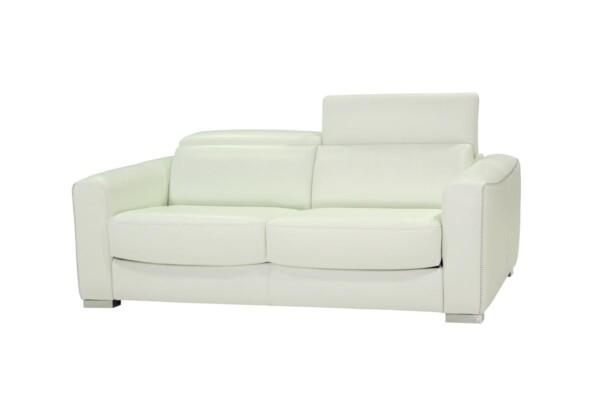 Кожаный белый диван купить Киев. Супермаркет диванов Relax Studio