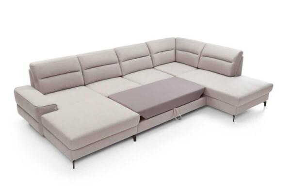 Диван кутовий Диван кутовий Naomi set3 з розкладним спальним місцем та нішею для білизни купити Київ. Супермаркет диванів Relax Studio