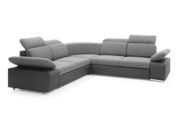 Диван угловой Odessa I - угловой диван с подголовниками, регулируемыми | Супермаркет диванов Relax Studio