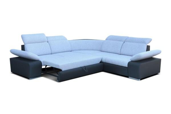 Диван угловой Odessa I - угловой диван с удобной раскладкой для ежедневного сна | Супермаркет диванов Relax Studio