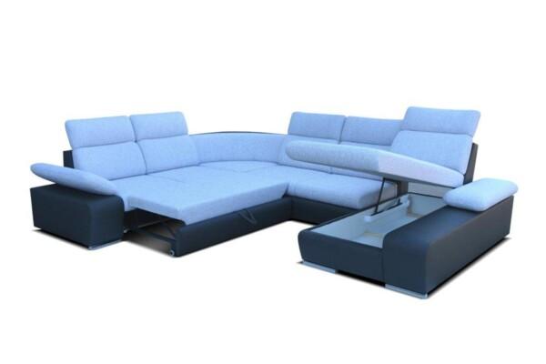 Диван угловой Odessa III - Большой модульный диван | Супермаркет диванов RelaxStudio