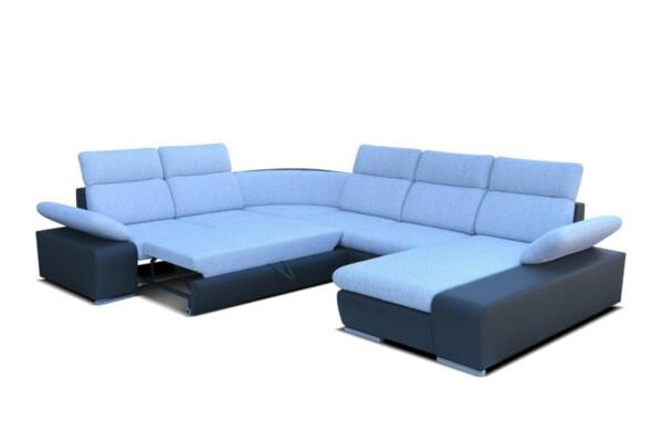 Диван угловой Odessa III - Большой диван для гостиной с местом для постоянного сна | Супермаркет диванов RelaxStudio
