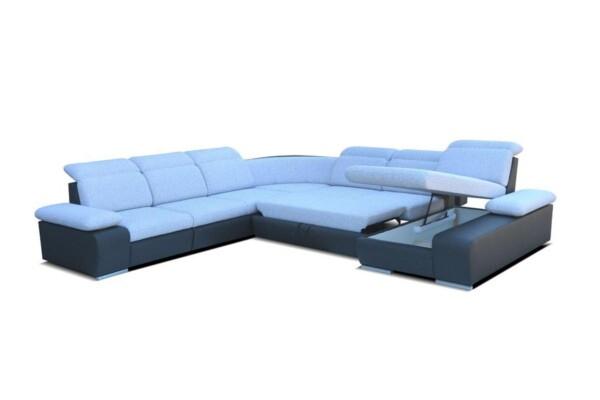 Диван кутовий Odessa IV Модульний диван великого розміру купити в Києві | Супермаркет диванів RelaxStudio